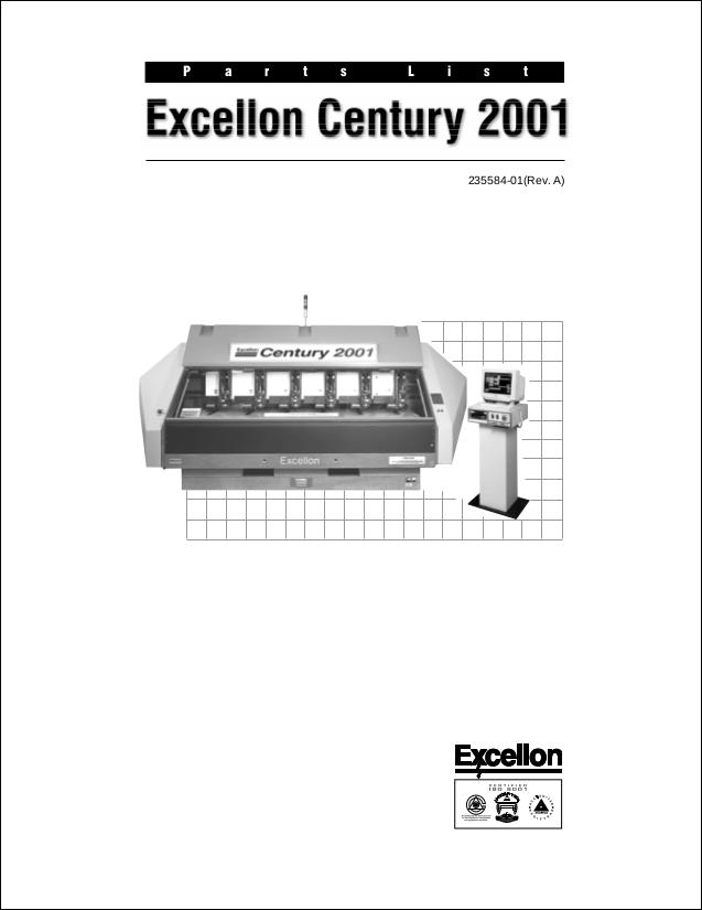 Parts List for Century Machines