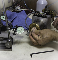 Excellon spindle re-assembly